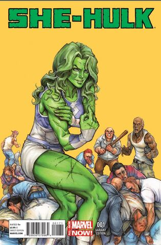 File:She-Hulk Vol 3 1 Oyum Variant.jpg