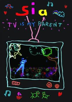 Sia, TV Is My Parent cover
