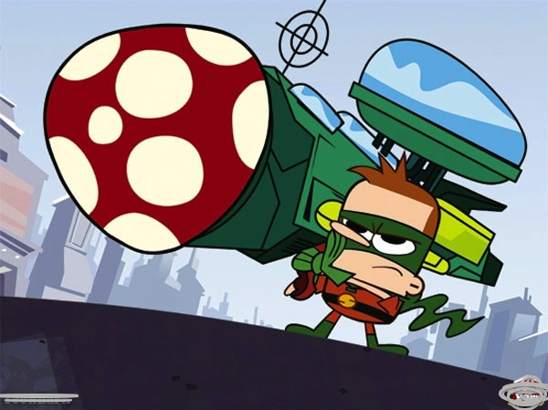 File:Erick with a water bazooka with a mushroom to cure pamplemoose.jpg