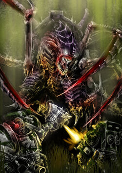 Dark Angels VS Carnifex