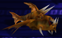 Reeban tooth fish