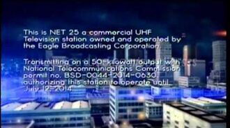 NET25 - Sign on and Sign off -11-JAN 2014-