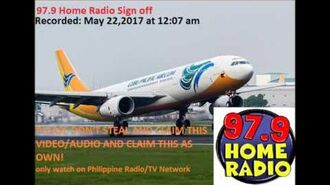 97.9 Home Radio Manila Sign off (Updated 2017)