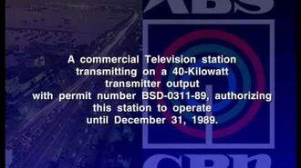 ABS-CBN 2 Sign-Off 1989 (Remake Version)