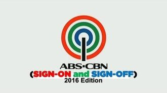 ABS-CBN Channel 2- Sign-on and Sign-off -2016-