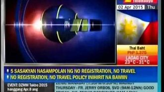 DZMM - Sign on and Sign off -01-APR 2015-
