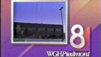 WGHP-TV 8, High Point, NC-Signoff from 1988