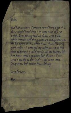 Ricky's Letter (2)