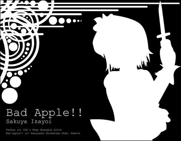 File:Sakuya izayoi bad apple by adiyasa-d3bfu3a.jpg