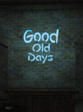 GoodOldDays sign 2