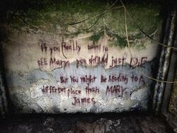 Death message to james