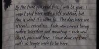 Prisoner's Letter (3)