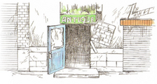 Antique Shop - Concept Art
