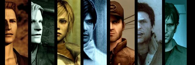 File:The silent hill protagonists by rollerfan222-d50icz8.jpg