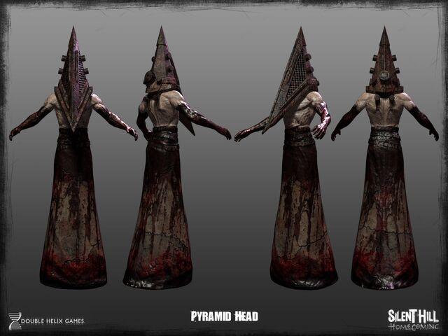 File:Pyramid Head Model.jpg