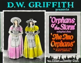 Poster - Orphans of the Storm 01