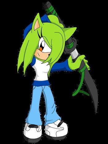 Lyra the Hedgehog