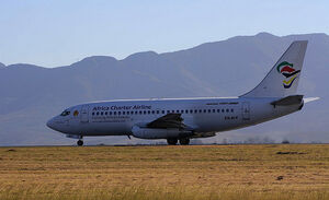 Africa Charter Airline B737-236 ZS-SIT
