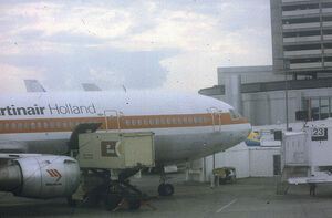 McDonnell Douglas DC-10-30CF PH-MBT Martinair Holland, Toronto, July 14 1984.