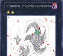 Counting Shurikens