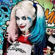Harley Quinn Messy Poster Avatar