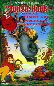 Simba, Timon, and Pumbaa's Adventures in The Jungle Book
