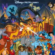 528px-Simba, Timon, and Pumbaa's Adventures of Fantasmic (Walt Disney World version) poster(2)