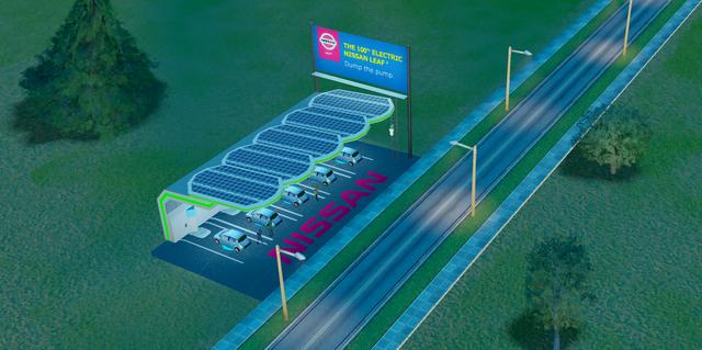 File:Nissan Leaf Charging Station.png
