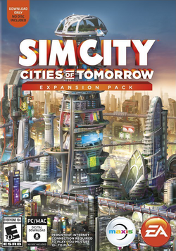 SimCity Cities of Tomorrow box art