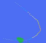 Hurricane Terisa's Path