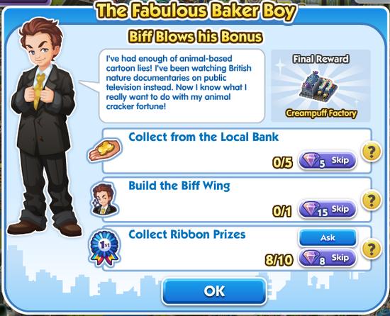 Quest - Biff Blows his Bonus
