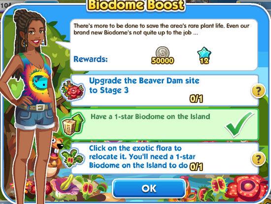 Biodome Boost