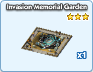Invasion memorial garden