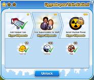Train station upgrade 2 unlock