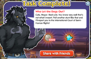 Quest who-let-the-dogs-out done