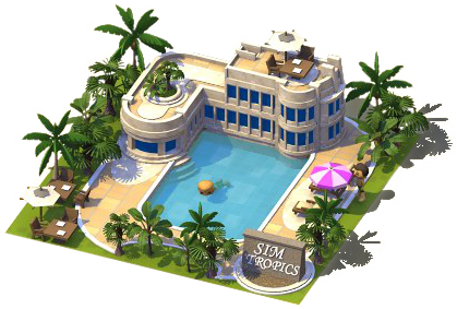 SimTropics Resort Large
