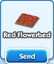 Red Flowerbed
