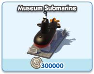 Museum Submarine