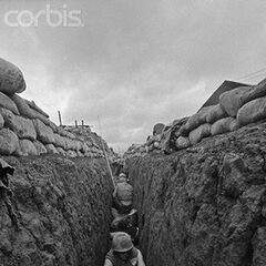 Cetra Marines in a Hermantino Trench during the Fort Selona