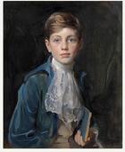 Young Friedrich Wilhelm, Crowned Kaiser Friedrich II, 3154