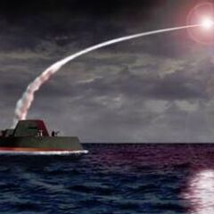 A Universali Cruiser firing a Missile