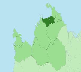 Location of Arlathan
