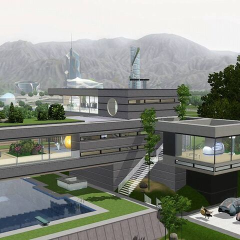 A Medium Universali House