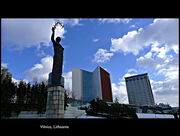 - Architectural Lines - Beautiful sky - Wonderful Discoveries - Vilnius, the capital of Lithuania - Her modern Face - ENJOY!