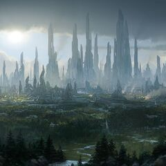 Faresake, 2nd most Populous in the Empire, Economic and Transport Hub of the South