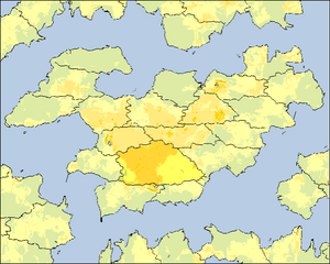 Ottello Monda (GR) location map (Simcountry)