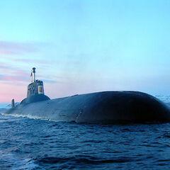 nathair uisce-class ballistic submarine