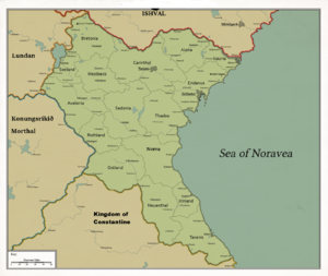 Map of Noravea