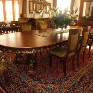 Dining Room in Ardglassian Embassy in Colombia