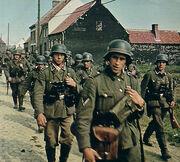 Reichsheer Occupation Troops in Sieländ